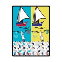 anchor blanket - Anchor Custom Woolen Fleece Blanket Indoor Outdoor Travel Blankets quot x80 quot best gift for Christmas