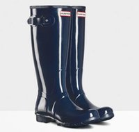 Wholesale HUNTER ORIGINAL TALL NAVY WELLINGTON BOOTS Welly BLUE NWT BN