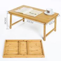 Wholesale 2016 folding wooden material laptap computer desk for students or workers
