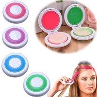 Wholesale Fashion color Set Hair Chalk Powder European Hair Color Temporary Pastel Hair Dye Color Paint Soft Pastels Salon Hot Sale