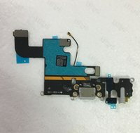 audio ports - 50pcs For iPhone G Plus USB Dock Charger Charging Headphone Audio Port Flex Cable Replacement Part for iphone G plus