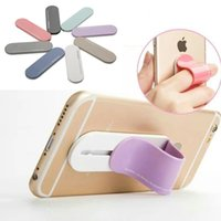 band stands - Multi Band Washable Reuse Smart Finger Grip Self Standing Sticker Magic Ring Bracket Phone Holder For iPad iPhone s Plus S7 Edge Note