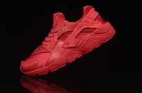 air clay - 2016 hot Air running shoes red Huarache women and men trainers causal shoes chaussure femme homme sneaker basket sport shoes plus size