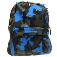 Wholesale Baby Kids Girls Boys Child Padded Camouflage Camo Rivet Clinch Bolt Kindergarten School Bag Bookbag Backpack Satchel