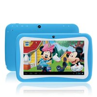 apps for kids android - Newest inch Kids Tablet PC RK3126 Quad Core G ROM Android With Children Educational Apps Dual Camera PAD for Children