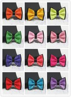 Wholesale Bow Tie Men s Formal Wear Groom Groomsmen Double Tie Marry British Style Korean Version Fashion Metal Gift Boxes Handsome Bowknot Tie