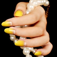 beauty tips bride - Pre Design Fake Nail Tips X24PCS Multi Color False Eyelashes Professional Bride Decoration Full Nail Tips Brand Nail beauty art
