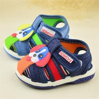 autumn sound - 2016 summer new Baby sandals With sound rubber Boys Girls Baby toddler shoes breathable comfort Z L221