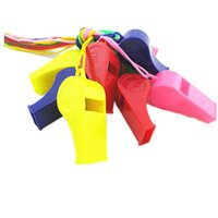 Wholesale Colorful plastic Whistle Cheap hot popular Noise maker for sport game party Christmas Lovely chic Whistles