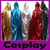 Wholesale New Arrival Multicolor Solid Halloween Party Scare Devils Wizards Cosplay Adult Cape for Girls Boys Cape