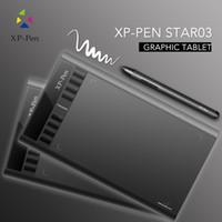 al por mayor xp tablet-XP-PEN Star03 gráficos del dibujo de la pluma de la tableta de dibujo de la tableta sin baterías de Stylus Pen pasiva pintura de la escritura Firma Junta / Pad con Trans