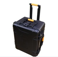 Wholesale Tool case toolbox Impact resistant sealed waterproof safe empty case x505x363mm security tool equipment trolley case