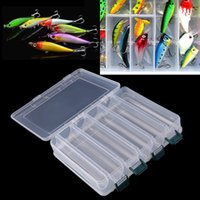 Wholesale 27cm cm cm New Compartments Double Sided Fishing Lure Bait Hooks Tackle Waterproof Storage Box Case