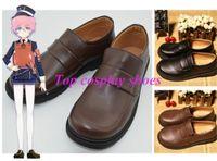 akita boots - DMM Touken Ranbu Akita Toushirou Cosplay shoes boots two Version TR020