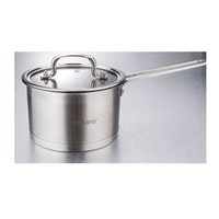 Wholesale Cookware Set Family Stock Pots Tirclad Bottom Quality Stainless Steel cm cm Stock Pots Glass Cover