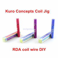 Cheap Best Kuro Koiler Coil Jig Wire Coiling Tool Atomizer Coil Tool Wrapping Coiler for e Cigarette Kayfun Taifun Atty Orchid Haze RDA RBA
