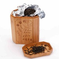 Wholesale storage bottle jar Creative carbonized bamboo gift tea pot storage tank sealed can craft Home Storage