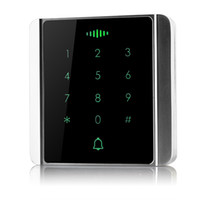 access keypads - 86 Button Box Access Controller Password Touch Keypad Metal Case KHz Proximity Card For Door Security F1271