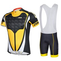 aurora pad - 2016 Aurora Cycling Jersey Bib Set Short Sleeves With Padded Cycling Jerseys Size XS XL Bike Wear Quick Dry Compressed Bicycle Clothing