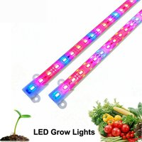 aquarium level - New LED Grow Lights lamp tubes led Plant Blue red Aquarium Greenhouse Hydroponic Plant MSD5630 DC v M W highest level waterproof