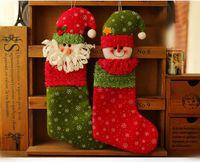 Wholesale Christmas Supplies Santa Claus snowman sock lead