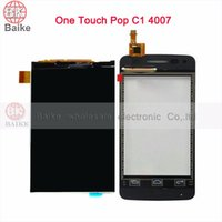 Wholesale quot Touch Screen Digitizer for Alcatel One Touch C1 PIXI D E OT4007 Lcd Screen Display Panel