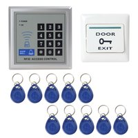Wholesale DIY Full Complete KHz RFID Door Access Control Security System Kit Electric Magnetic Lock Support both NC Mode