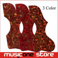 Wholesale Multi Color Alien Shape Guitar Pickguard Acoustic Guitar Pickguard Pick Guard Sticker MU1320
