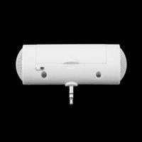Wholesale 2016 NEW Universal mm Mini Monaural Speaker Portable Music Stereo Audio Speakers Loudpeakers For Smartphone Moblie Phone MP4 White