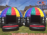 Wholesale Hot Selling Crazy Disco Dome Commercial Bouncy Castles Music Jumping Tent Bouncer