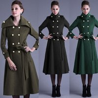 Wholesale Winter Autumn New Arrival Formal Outerwear Trench Coat For Women Women s Trench M XXL TM01128