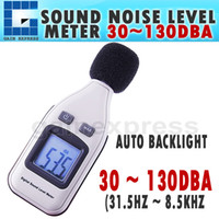 Wholesale SL Mini Digital Sound Noise Level Meter Tester dBA Decibel Pressure