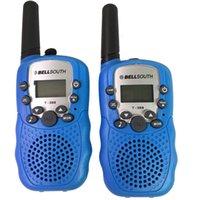 baby talkie walkie - 2 Pieces T W inch LCD KM Walkie Talkie Baby Blue