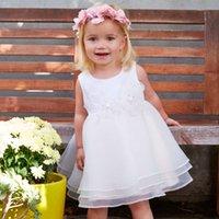 bella formals - DAVE BELLA summer child infant toddler baby girl princess party summer dress formal tulle dress sundress pearl child baby girl clothes