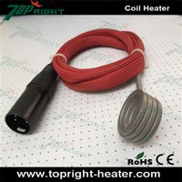 Wholesale price enail coil heater with pins plug from Topright coil heater for enail diy