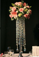 acrylic top table - best selling Acrylic table top chandelier centerpieces for wedding