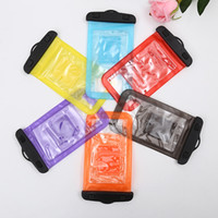 apple pouchs - Iphone plus Waterproof Phone Bag Clear Transparent Swimming Bag PVC Underwater Pouchs Cover Neck Pouch Bags Resistant Case for all phones