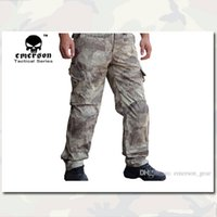 airsoft camo pants - EMERSON Training Pants Gen3 New BDU Army Style airsoft Pants multicam EM7019 pads inside Outdoor Camo Clothing Gear