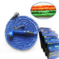 Wholesale Newest FT Retractable Garden Hose Water Pipe Magic Hose Expandable and Flexible Hose Spray Nozzle