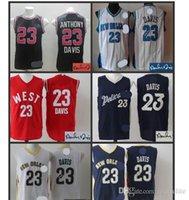 anthony davis jersey - Top Quality Anthony Davis jersey Rev jersey Embroidery Logos Retro Jersey Accept Mix Orders Cheap Jerseys