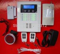 auto enterprises - New enterprise family safety voice GSM wireless alarm system Remote Control by SMS to monitor protection intercom