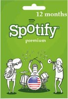 Wholesale 12 Months Spotify Premium Canada Code