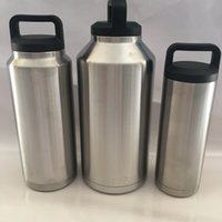 Wholesale 304 Stainless Steel Cooler oz oz oz oz oz oz Cup Rambler Tumbler For Travel Vehicle Beer Mug Tumblerful Bilayer Vacuum Insulated