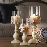 Wholesale European iron candlestick metal crafts creative Wedding Candle romantic candle Home Furnishing new jewelry ornaments Antique sty wholesaler