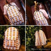 Wholesale 2016 Boys Girls Smiley Fangirl Emoji Backpack Funny Satchel Shoulders Bag Schoolbag