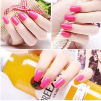 nail art - New op Nail Polish Lacquer Candy Color Easy Day Enamel Polish Nail Art Decoration Nails Nail Lacquer Nail Art Salon Gel colors