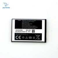 Wholesale Battery For Samsung E250 X200 X208 Lithium Batteries mAH V AB463446BU Highest Quanlity With Fasting Shipping