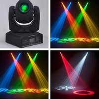 Wholesale LED10W Mini lighting lighting pattern moving head wedding disco bar KTV Mini beam seven color seven pattern