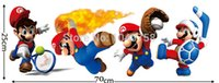 baby sports room - Home Decor Wall Sticker Super Mario Wall Stickers for Kids Baby Rooms Home Decoration Sports Mix Bros Game Wall Decals Art Poster