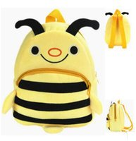 bee movie games - New Kids Bee Design Plush Backpack Children Birthday Gift Plush Backpack Shopping Travel Backpacks for Kids